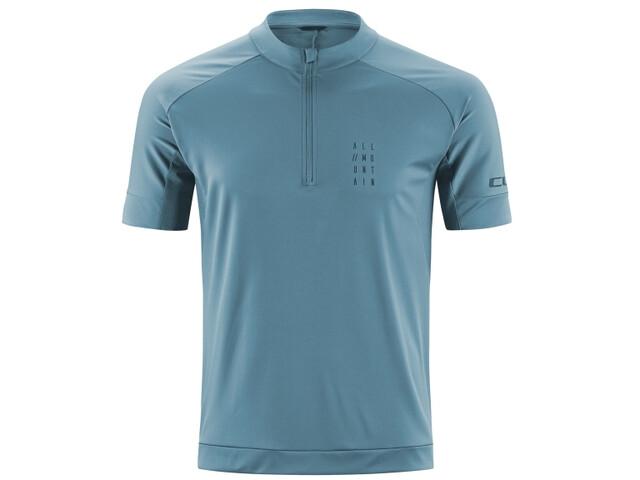 Cube AM Maglia jersey a maniche corte Uomo, smoke blue